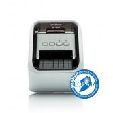Drukarka etykiet BROTHER QL-800, dwukolorowa, Polska gwarancja 3 LATA